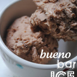Bueno Bar Ice Cream