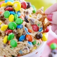Monster Cookie Dip is a quick and easy dessert recipe; great for parties!