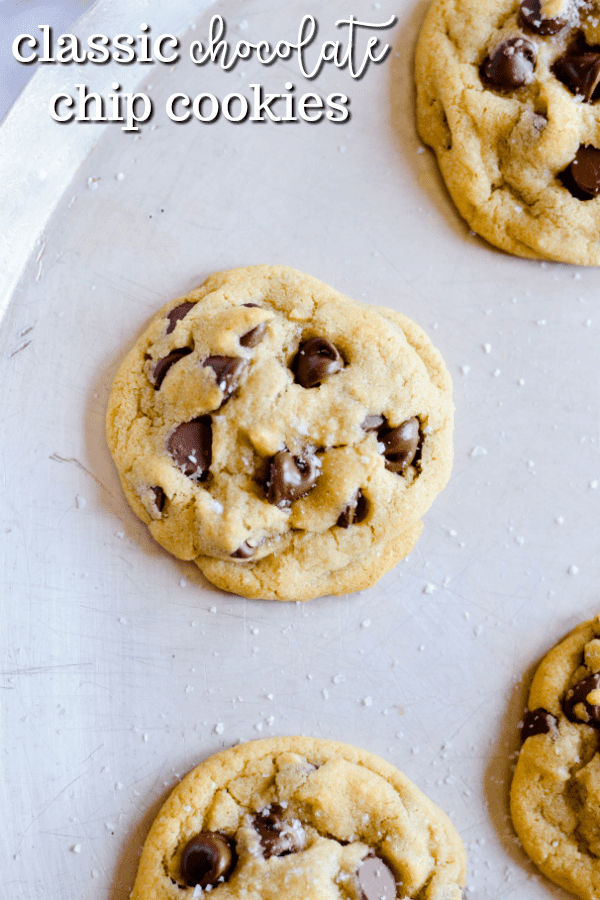 Everyone has their favorite recipe for classic chocolate chip cookies, and this is mine.