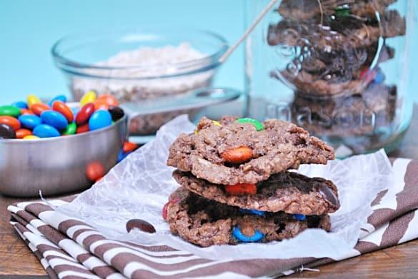 Nutella Monster Cookies from www.somethingswanky.com