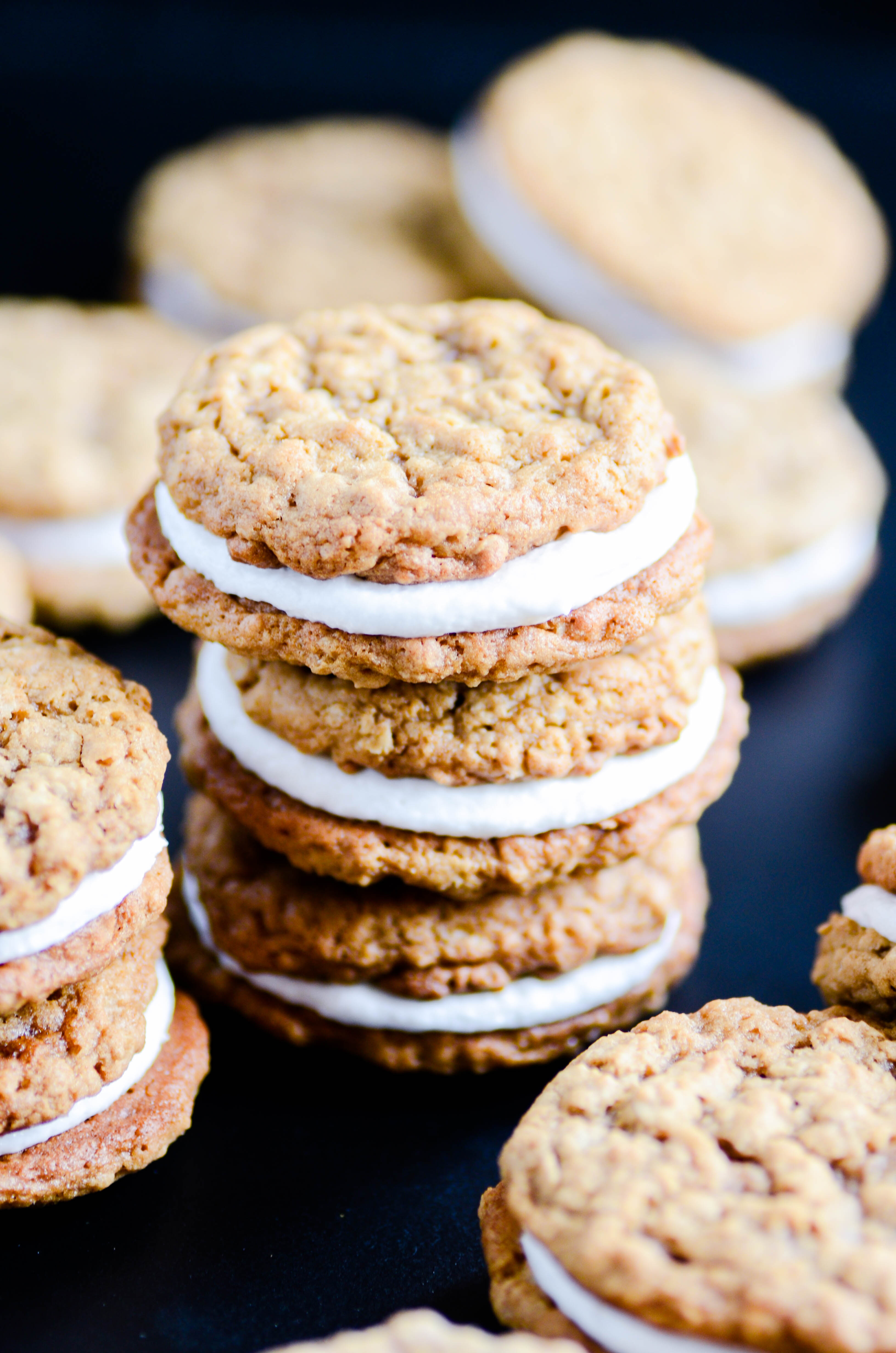 Oatmeal cream pies are so easy to make at home and SO GOOD!