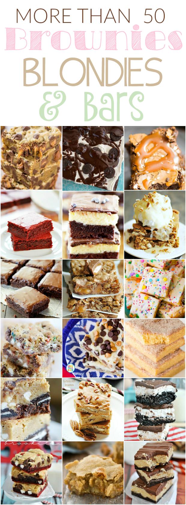 50+ Brownies and Bars Recipes