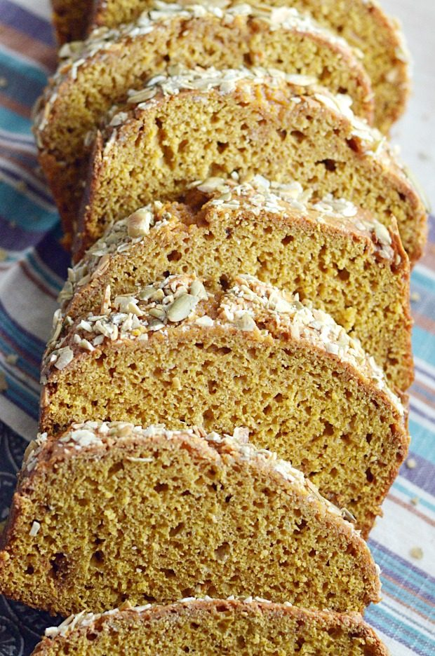 You'll love this homemade Starbucks Pumpkin Bread Recipe even more than the real thing! Thick, delicious slices of moist pumpkin bread that are a perfect dupe and so easy to make.