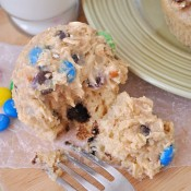 Monster Cookie Dough Cupcakes #cookiedough #cupcakes #dessert