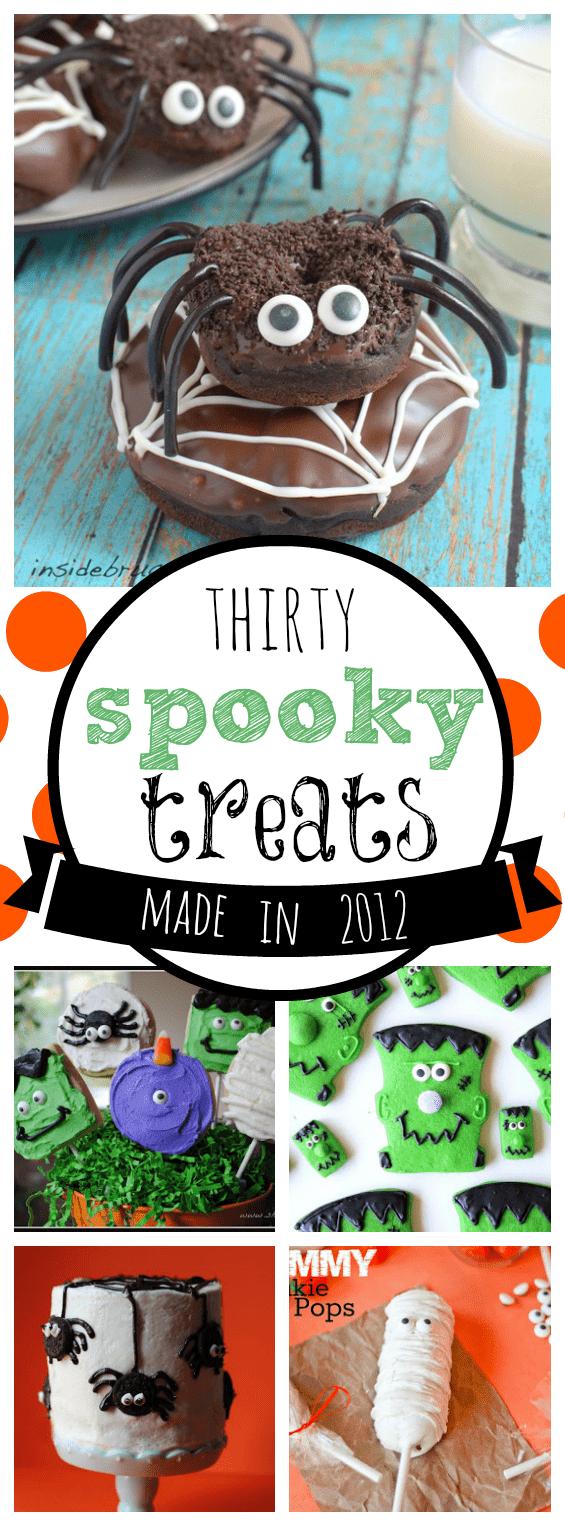30 Spooky Halloween Treats Made in 2012 | www.somethingswanky.com