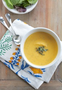 Butternut Squash Sage Soup 2