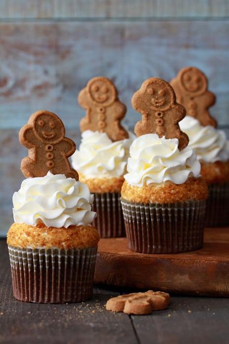 Gingerbread Latte Cupcakes Bakers Royale