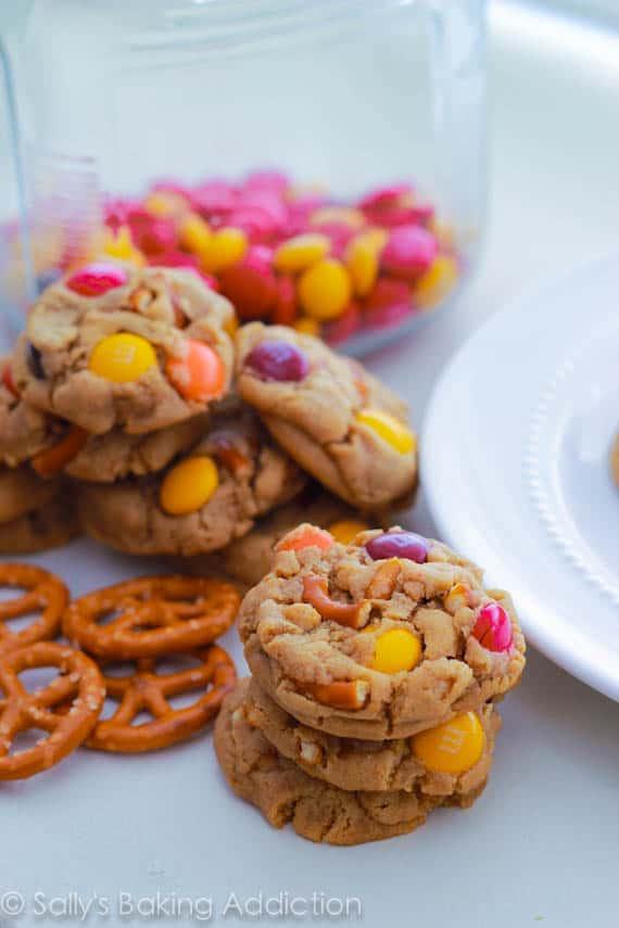Mini Peanut Butter Pretzel Mm Cookies 6