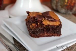 Ps Pumkin Cookie Brownies
