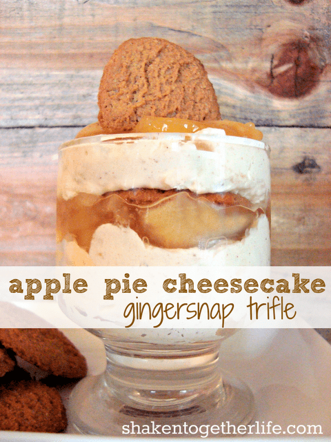Apple Pie Cheesecake Ginger Snap Trifle Blog