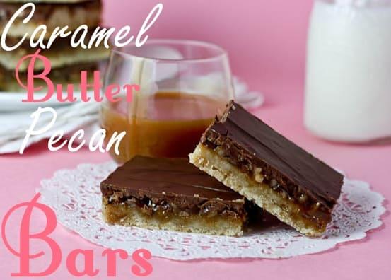 Caramel Butter Pecan Bars