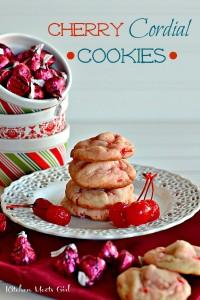 Cherry Cordial Cookies 11