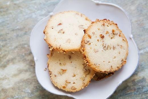 Cream Cheese Pecan Cookies