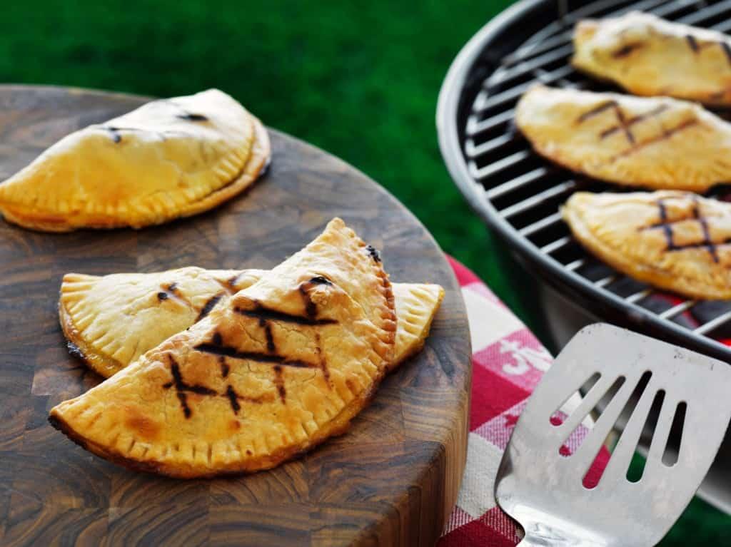 Grilled Pecan Pie