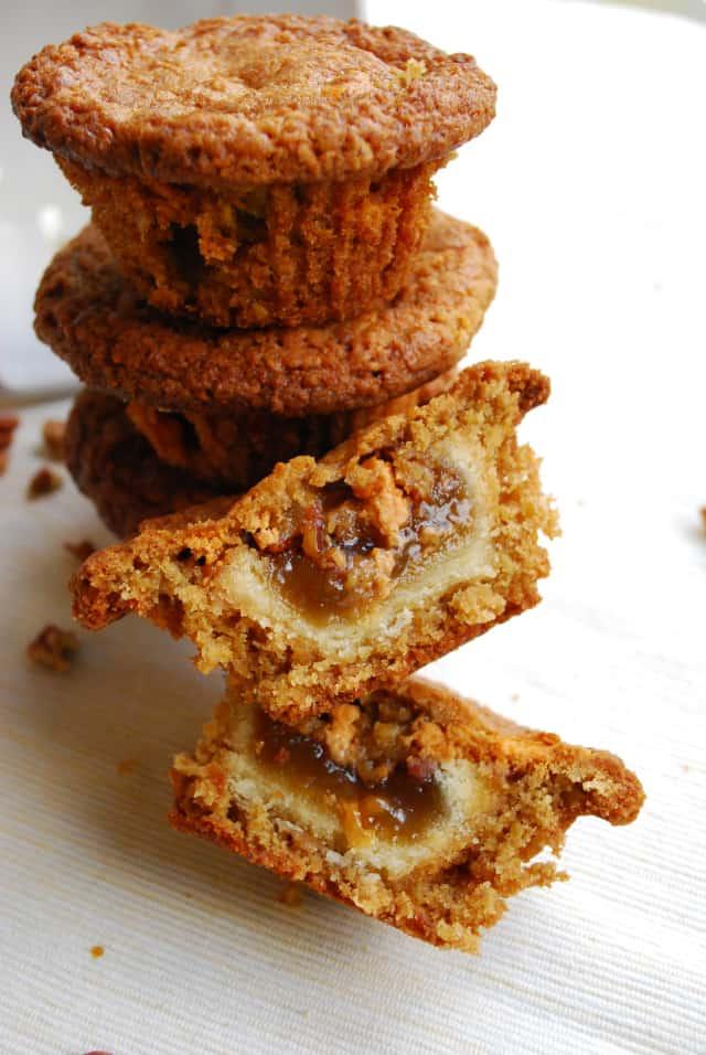 Oatmeal Scotchie Pecan Pookies