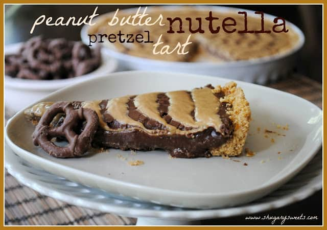 Pb Nutella Tart