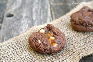 choc toffee cookies