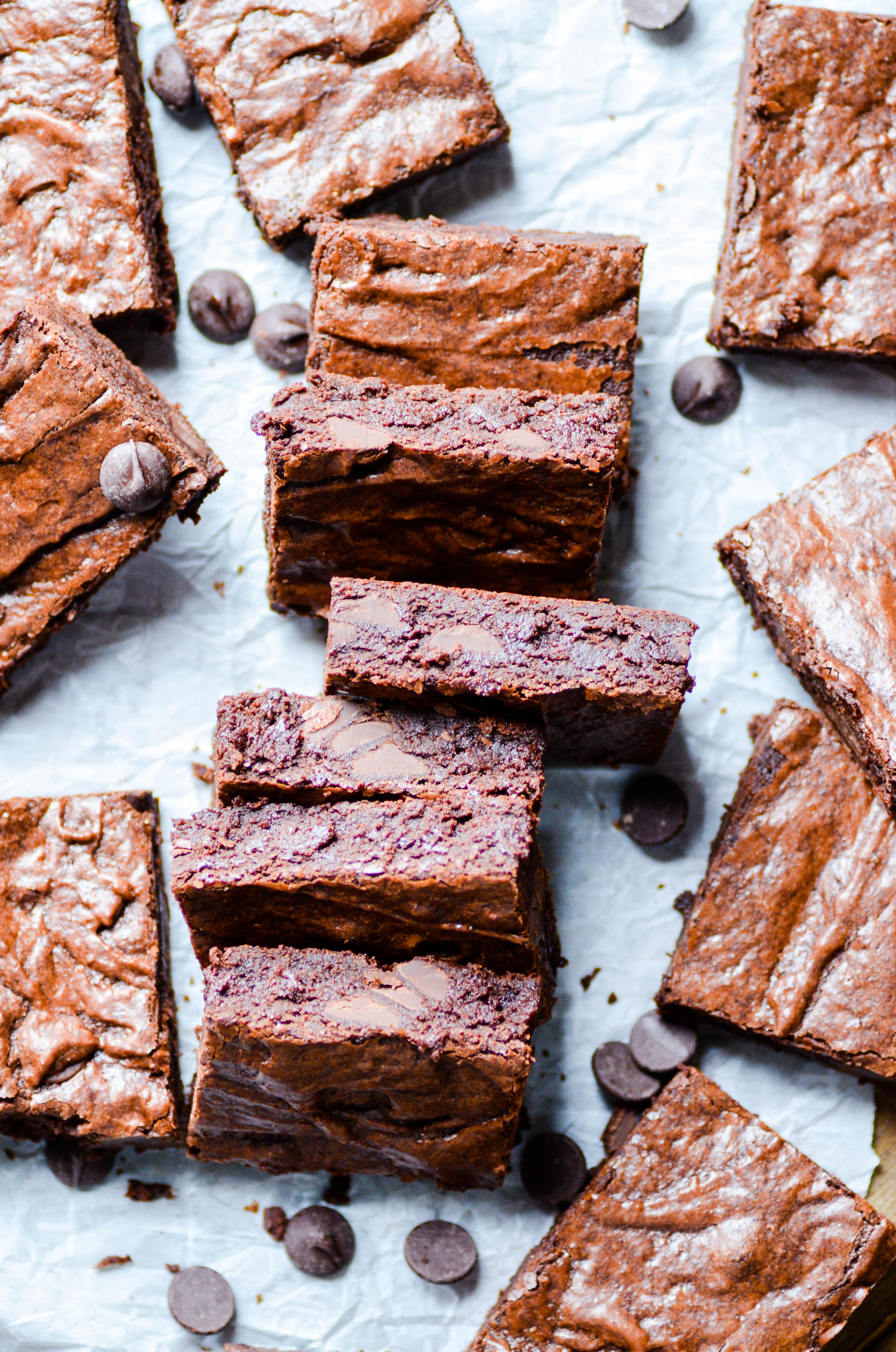 These Browned Butter Brownies are rich and fudgy, the absolutely perfect brownie!