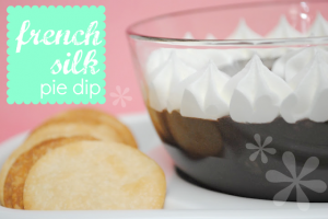 french silk pie dip