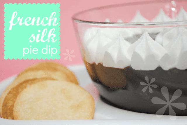 french silk pie dip