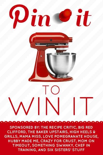 pin it to win it kitchenaid all