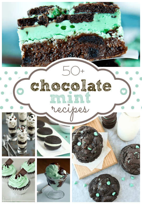 Chocolate Mint Collage 1