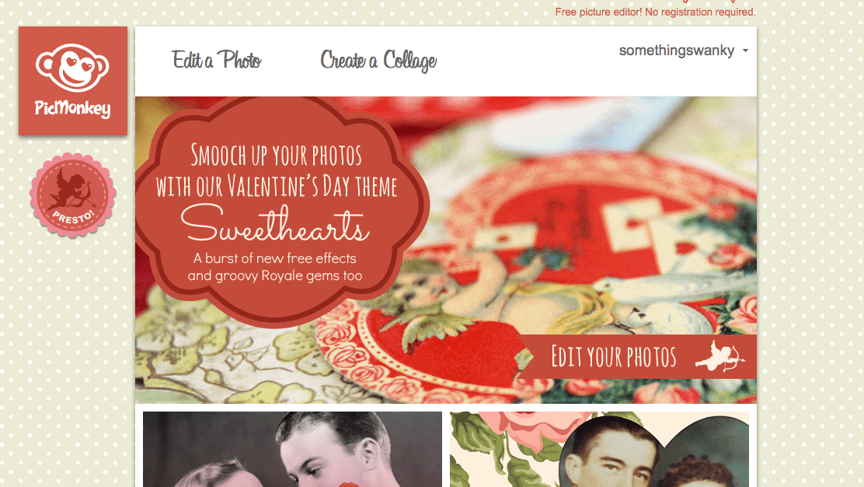 Create a Collage #picmonkey www.somethingswanky.com