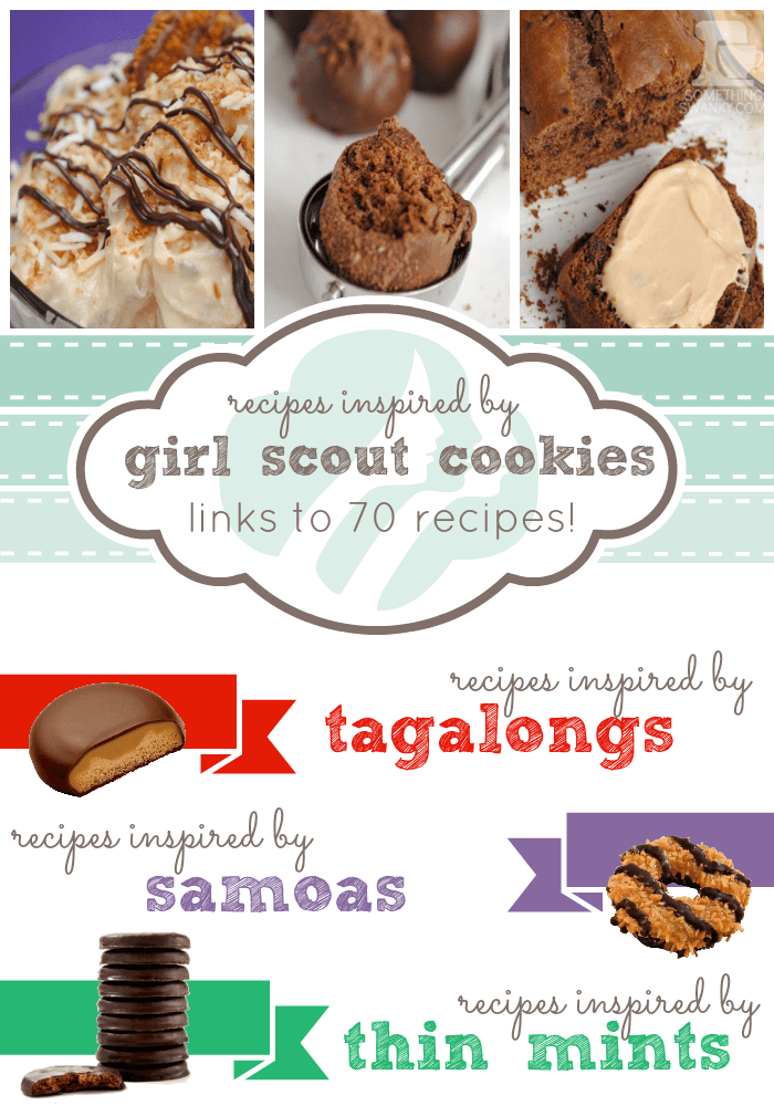 Recipes from girl scout cookies