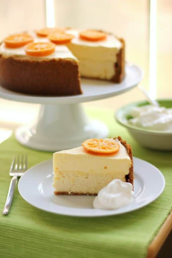 Clemetine Mousse Cheesecake