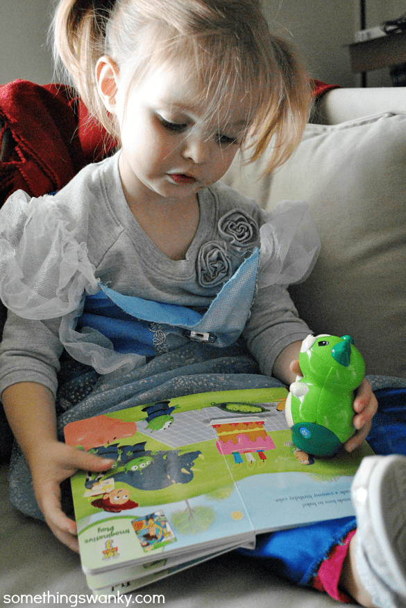 Take the 20 minutes/day reading pledge with #LeapFrog www.somethingswanky.com
