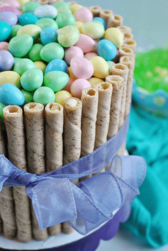 30 minute easter basket cake something swanky this easter basket cake comes together in less than 30 minutes and will be negle Images