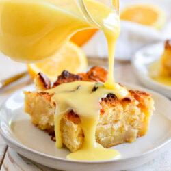 Lemon Chess Bread Pudding Recipe
