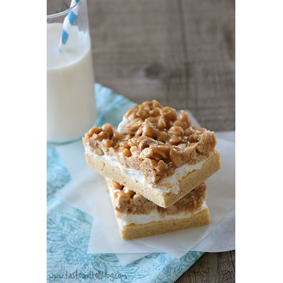 Peanut-Mallow-Bars-recipe-Taste-and-Tell