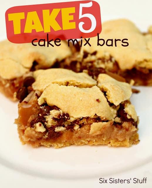 Take 5 Cake Mix Bars