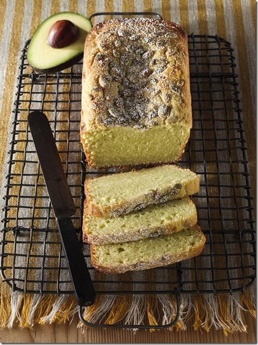 avocado ricotta pound cake