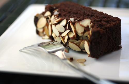 cocoa-marzipan pound cake