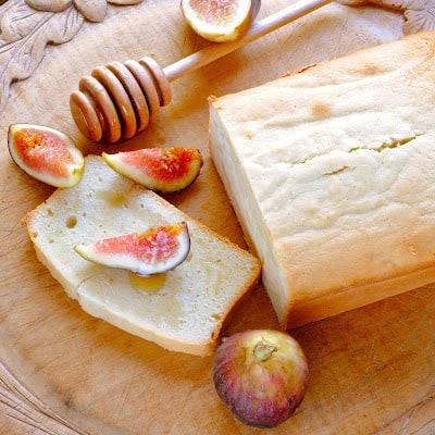 goat cheese pound cake