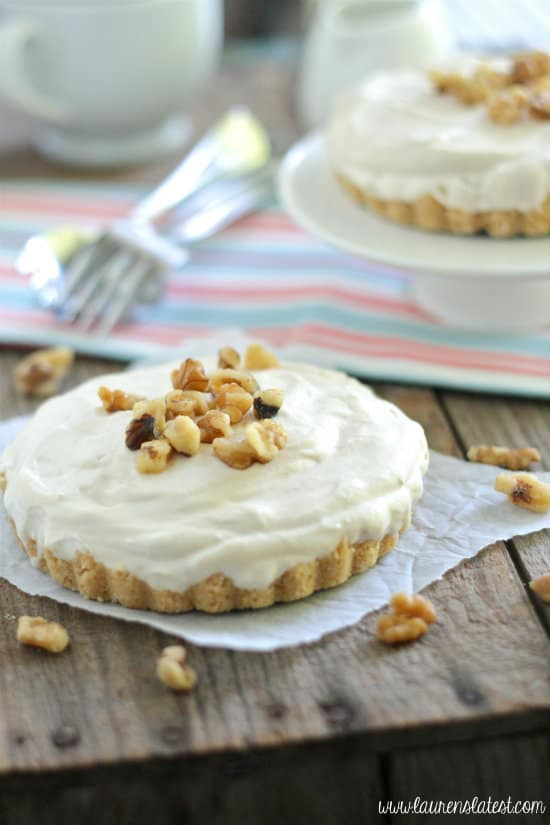 maple mousse cheesecake tarts
