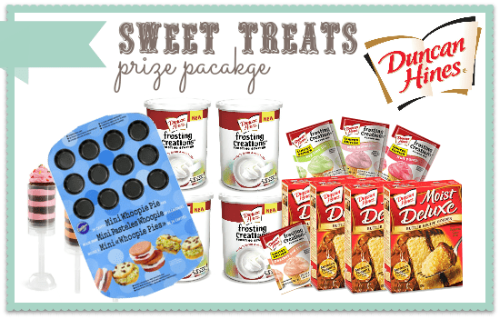 #duncanhines Sweet Treats Prize Pack at www.somethingswanky.com