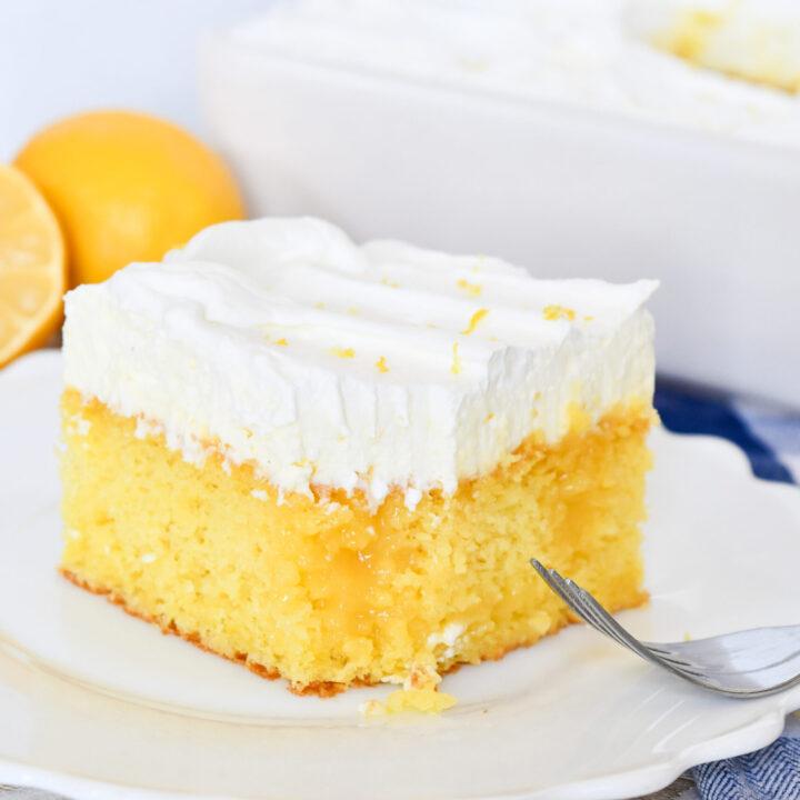 Better Than… Lemons Poke Cake Recipe