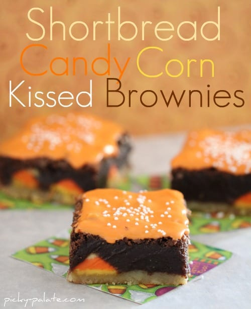 Shortbread-Candy-Corn-Kissed-Brownies