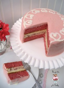 Strawberry Swirl Cheesecake Cake logo