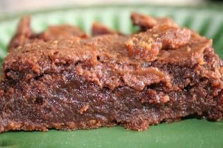 pumpkin spice chocolate brownies