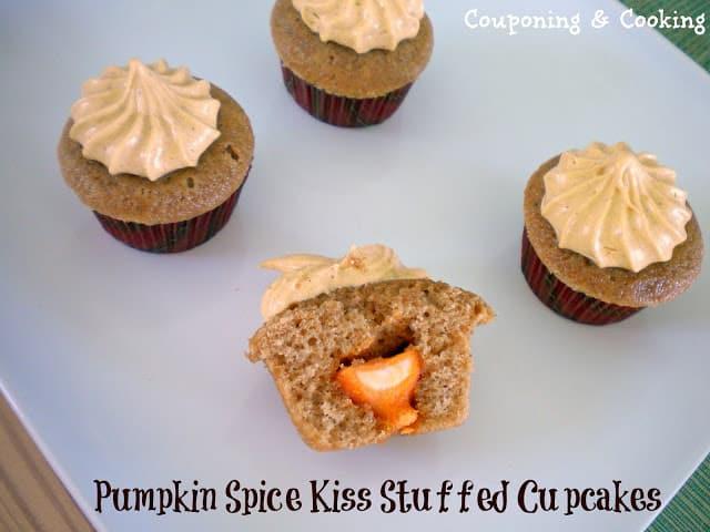 pumpkins spice cupcakes
