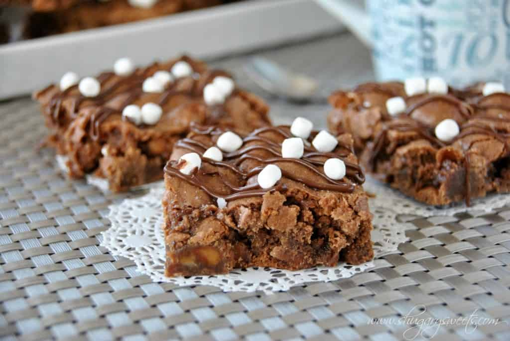 salted caramel cocoa bars