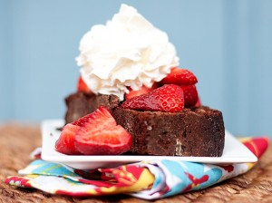 strawberry chocolate shortcake
