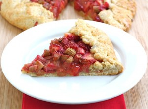 strawberry-rhubarb-galette