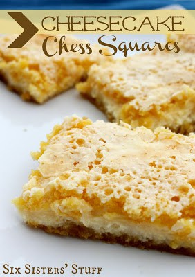 Cheesecake Chess Squares