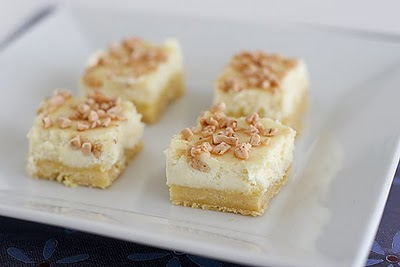 Creme Bruele Cheesecake Bars