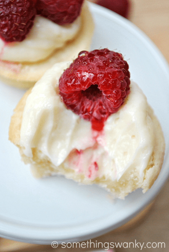 Raspberry Tartlettes | www.crazyforcrust.com